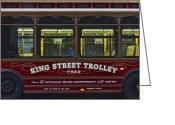 Public Transportation Greeting Cards - Washington DC Trolley Greeting Card by Robert Harmon