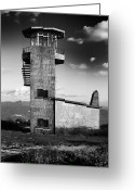 Military Pictures Greeting Cards - Watchtower Greeting Card by Marco Oliveira