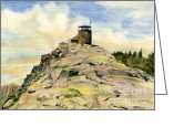 Melly Terpening Greeting Cards - Whiteface Mountain NY Greeting Card by Melly Terpening