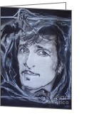 Mink Greeting Cards - Willy DeVille - Coup de Grace Greeting Card by Sean Connolly