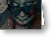 Sad Greeting Cards - Yoko  I Dont Know Why Greeting Card by Paul Lovering