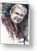 People Greeting Cards - Alex Greeting Card by Yuriy  Shevchuk