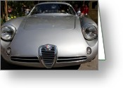 Transportation Greeting Cards - Alfa Romeo SZ Greeting Card by Wingsdomain Art and Photography