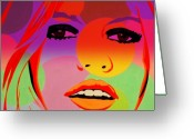 Funkpix Greeting Cards - Brigitte Bardot ... Young  Greeting Card by Funkpix Photo  Hunter