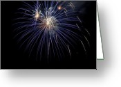 Clayton Greeting Cards - Burst Greeting Card by Clayton Bruster