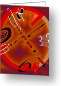 Clock Greeting Cards - Carpe Tempora Greeting Card by Helmut Rottler