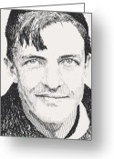Hall Of Fame Greeting Cards - Christy Mathewson Greeting Card by Robbi  Musser