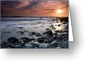 Dana Point Greeting Cards - Dana Point Shoreline Greeting Card by Eric Foltz