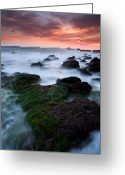 Dana Point Greeting Cards - Dana Point Sunset Greeting Card by Eric Foltz