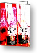 Corona Greeting Cards - Double Lime Plse Greeting Card by Funkpix Photo  Hunter