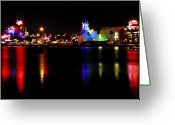 Downtown Disney Greeting Cards - Downtown Disney  Greeting Card by David Lee Thompson