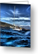 ; Maui Greeting Cards - Dramatic Waves Greeting Card by Dustin K Ryan