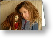 Dreadlocks Greeting Cards - Dreadlock Dollz Greeting Card by Rich Beer