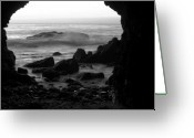 Dana Point Greeting Cards - Dream Cave Greeting Card by Brad Scott