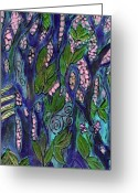 Jungle Snake Greeting Cards - Eden Greeting Card by Wayne Potrafka