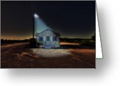 Cape Cod Greeting Cards - Fish Market Cape Cod Greeting Card by Dapixara Art