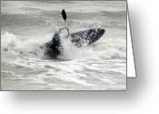Surf Photography Greeting Cards - Fun Greeting Card by Evelyn Patrick