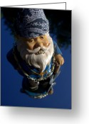 Gnome Greeting Cards - G gnome Greeting Card by Brad Scott