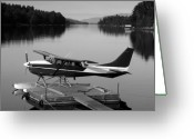 Plane Greeting Cards - Getting Away Greeting Card by David Lee Thompson