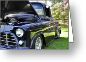 Clayton Greeting Cards - Grape Fully Blown PIckup Greeting Card by Clayton Bruster
