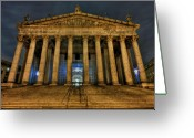 Kremsdorf Photo Greeting Cards - ... And Justice For All Greeting Card by Evelina Kremsdorf