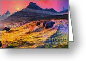 High Country Greeting Cards -  Beautiful Texas High Country Greeting Card by H G Mielke