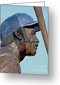Hall Of Fame Greeting Cards -  Billy Williams Greeting Card by David Bearden