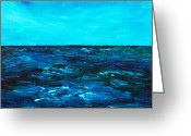 Psychology Greeting Cards -  Body of Water Greeting Card by Anastasiya Malakhova
