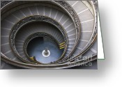 Vatican City Greeting Cards -  Heart of the Vatican Museum Greeting Card by Sandra Bronstein