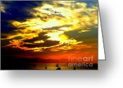 Tropical Photographs Photo Greeting Cards -  Imagine Greeting Card by Karen Wiles