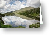 Glacier Greeting Cards -  Lakes of the Clouds - Mount Washington NH Greeting Card by Erin Paul Donovan