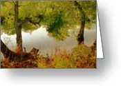 Photgraphy Greeting Cards -  Old Country Greeting Card by Linda Sannuti