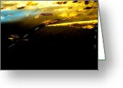 Kick Digital Art Greeting Cards - ..... On Route 66 Greeting Card by Ove Rosen