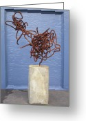 Fun Sculpture Greeting Cards -  Significant Other Greeting Card by Richard Heffron