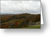 West Virginia Highlands Greeting Cards -  Sully Road Greeting Card by Randy Bodkins