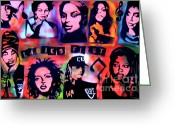 Sit-ins Greeting Cards -   The LADIES FIRST Greeting Card by Tony B Conscious