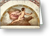 Art Of Building Greeting Cards - GANYMEDE, c1901 Greeting Card by Granger