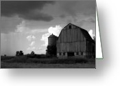 Old Barn Greeting Cards - 08016 Greeting Card by Jeffrey Freund
