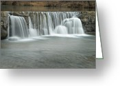 Arkansas Greeting Cards - 0902-7025 Natural Dam 3 Greeting Card by Randy Forrester