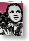 Judy Greeting Cards - - Dorothy - Greeting Card by Luis Ludzska