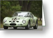 Ferrari Gto Classic Car Greeting Cards - 1962 Ferrari 250 GTO Scaglietti Berlinetta Greeting Card by Jill Reger