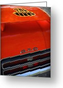 1977 Greeting Cards - 1969 Pontiac GTO The Judge Greeting Card by Gordon Dean II