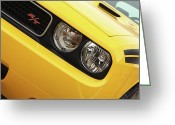 Brakes Greeting Cards - 2011 Dodge Challenger RT Greeting Card by Gordon Dean II