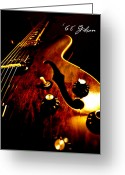 Christopher Gaston Greeting Cards - 68 Gibson Greeting Card by Christopher Gaston