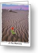 Image Digital Art Greeting Cards - A New Beginning Greeting Card by Mike McGlothlen