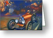 Porsche Greeting Cards - A Selfish Pair of Jeans Greeting Card by Patrick Anthony Pierson