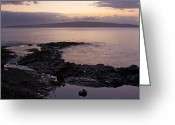 Beach Photographs Greeting Cards - A Sense Sublime Greeting Card by Sharon Mau