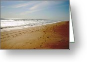 Beaches Greeting Cards - A1A Beach Greeting Card by Utopia Concepts