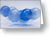 Surface Greeting Cards - Abstract Balloon Greeting Card by Setsiri Silapasuwanchai