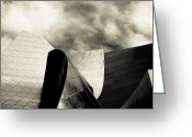 Philharmonic Greeting Cards - Abstract Greeting Card by Marius Sipa